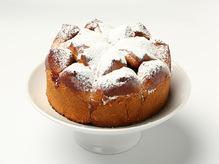 Мини пирог с яблочком