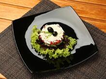 Салат по-шопски с огурцом