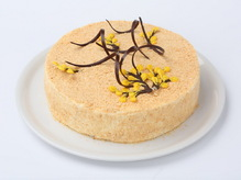 Торт Наполеон с заварным кремом, весовое